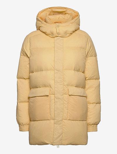 Sol Down Jacket 21-04 - vinterjakker - lt. yellow