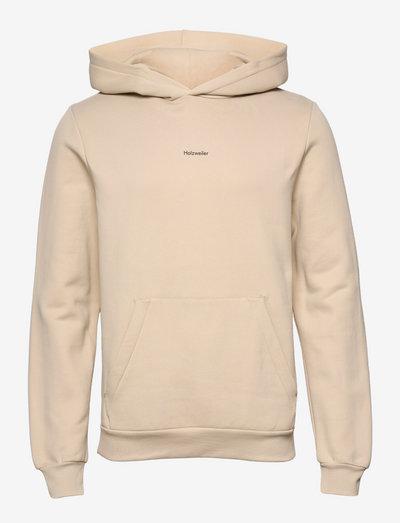 Fleek Hoodie - hoodies - beige