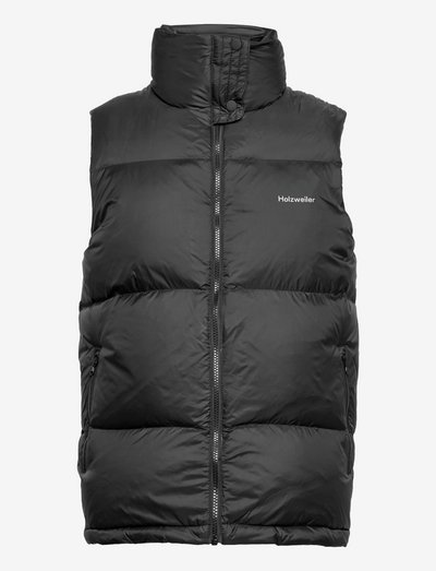 Ail Down Vest 21-04 - puffer vests - black