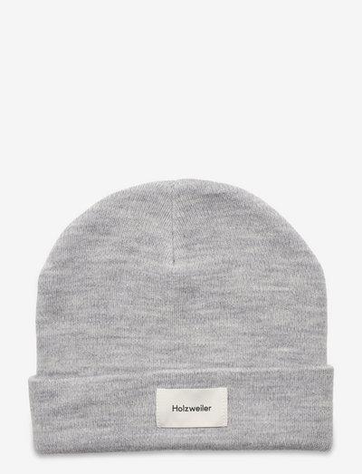 Wake Beanie - czapki i kapelusze - grey