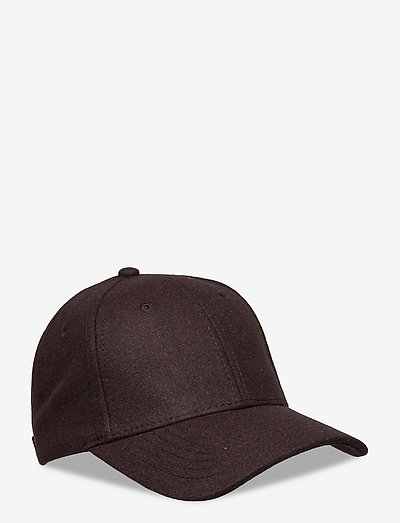 Holzweiler Wool Caps - kasketter - dk. brown