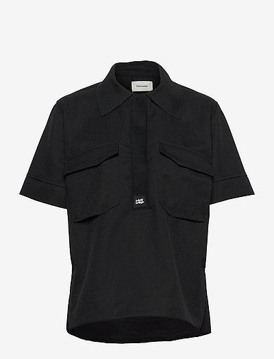 Melancholy Shirt - jeansblouses - black