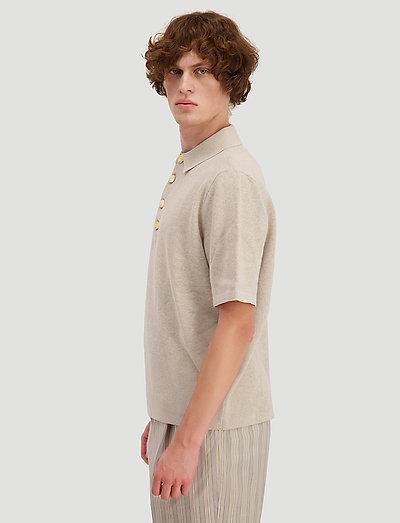 Holzweiler Skipper Knit- Poloshirts
