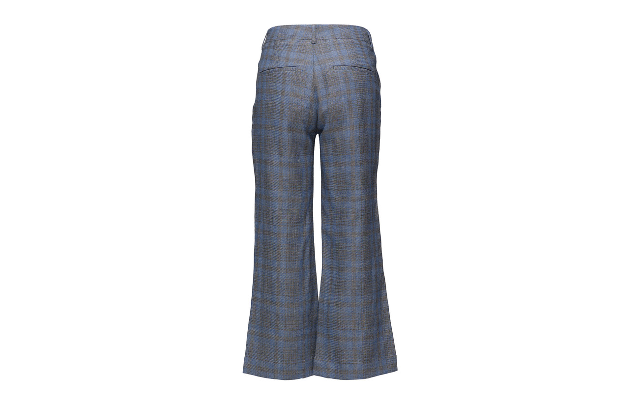 Check Work 40 10 High Blue 50 Trouser Polyester Lin Hope Équipement Coton wIp8q