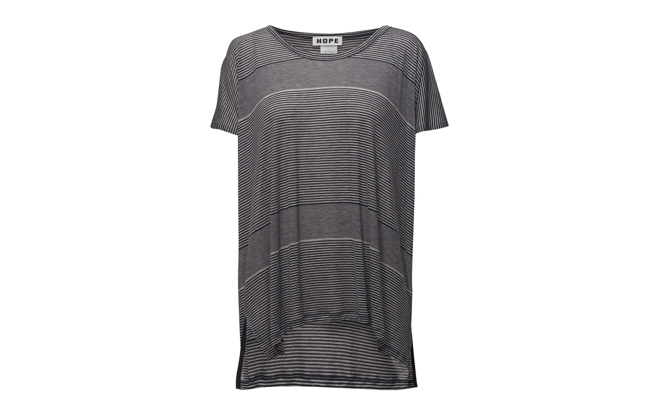 Hope Dk Blue Lyocell Stripe Brick Tee Équipement 100 q41wvq