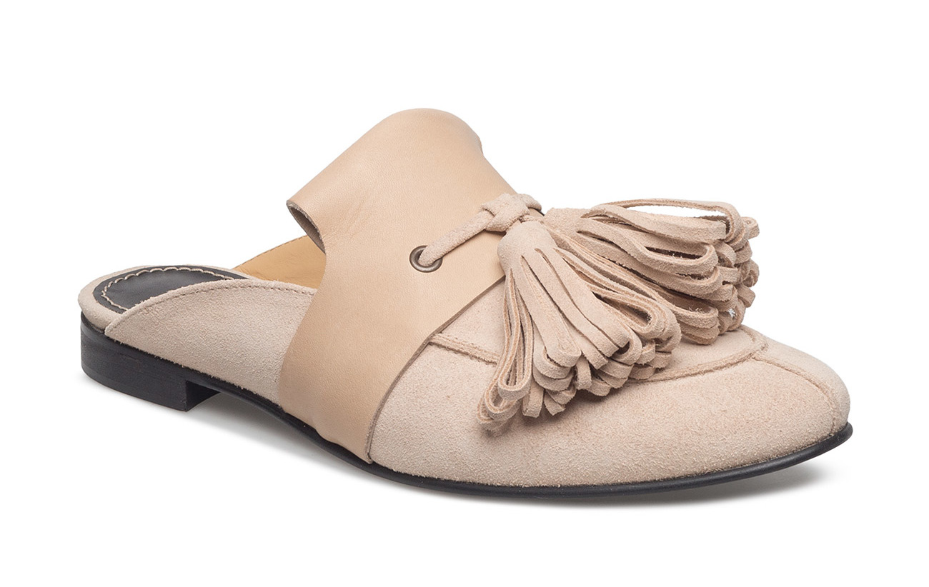 Hope Wim Loafer Mule - BEIGE