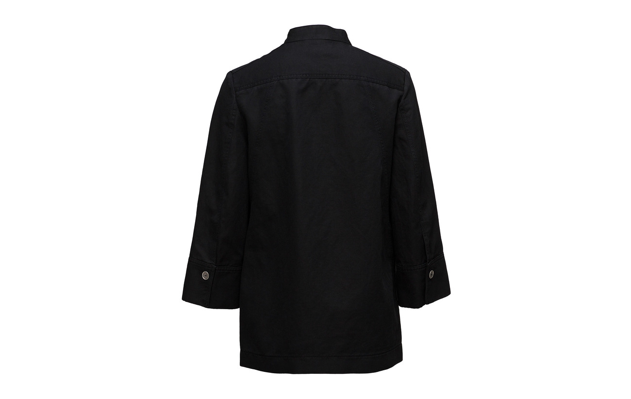 Jacket Tray Hope Coton Intérieure Doublure 44 Équipement Polyester Lin 56 Black 5O5rxndgA