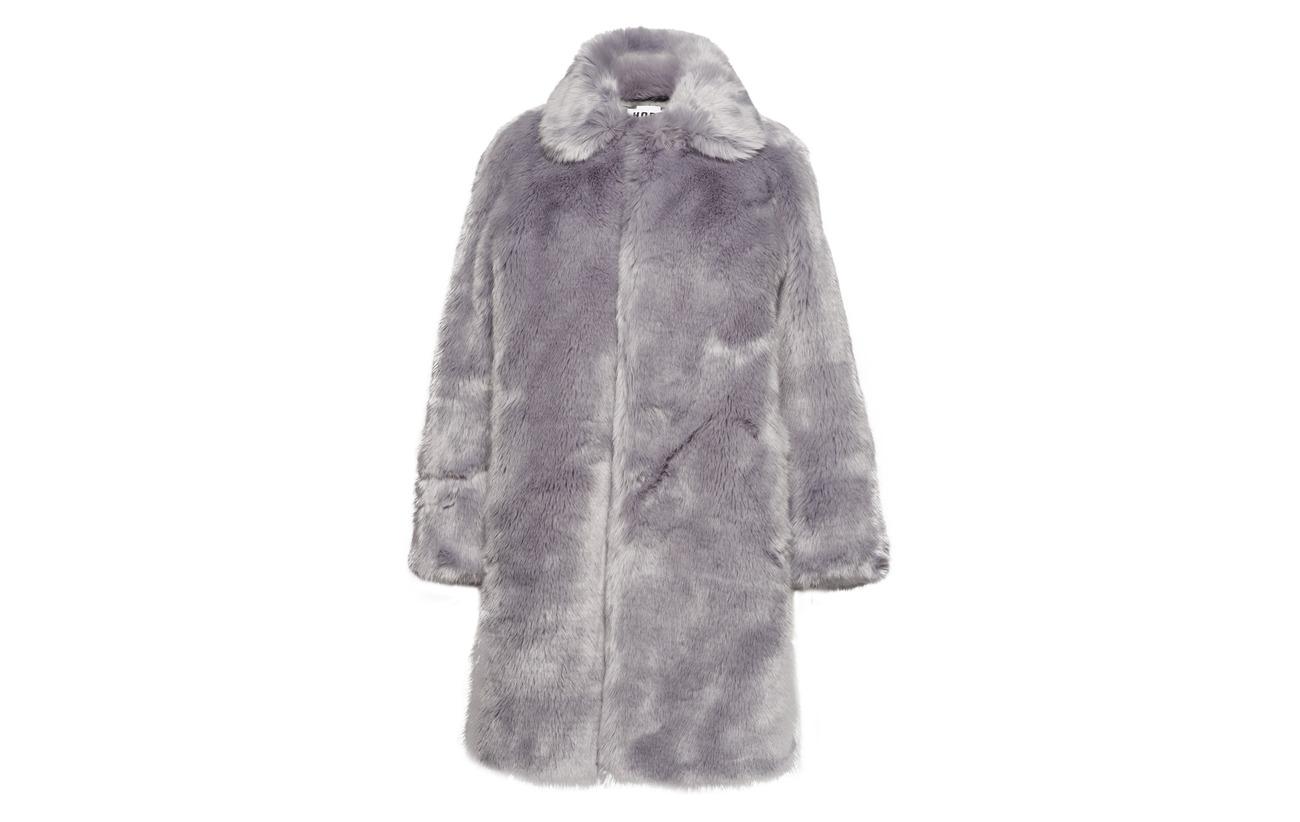 Acrylique Hope Intérieure 100 Équipement Grey Blue Fur Coat Doublure Viva Viscose vxr7qvwRp