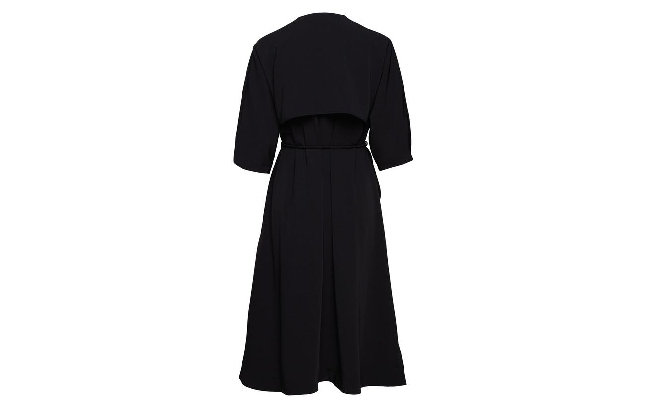 94 Hope Elastane Black Dress Tribe Polyester 6 qgZ1pgx