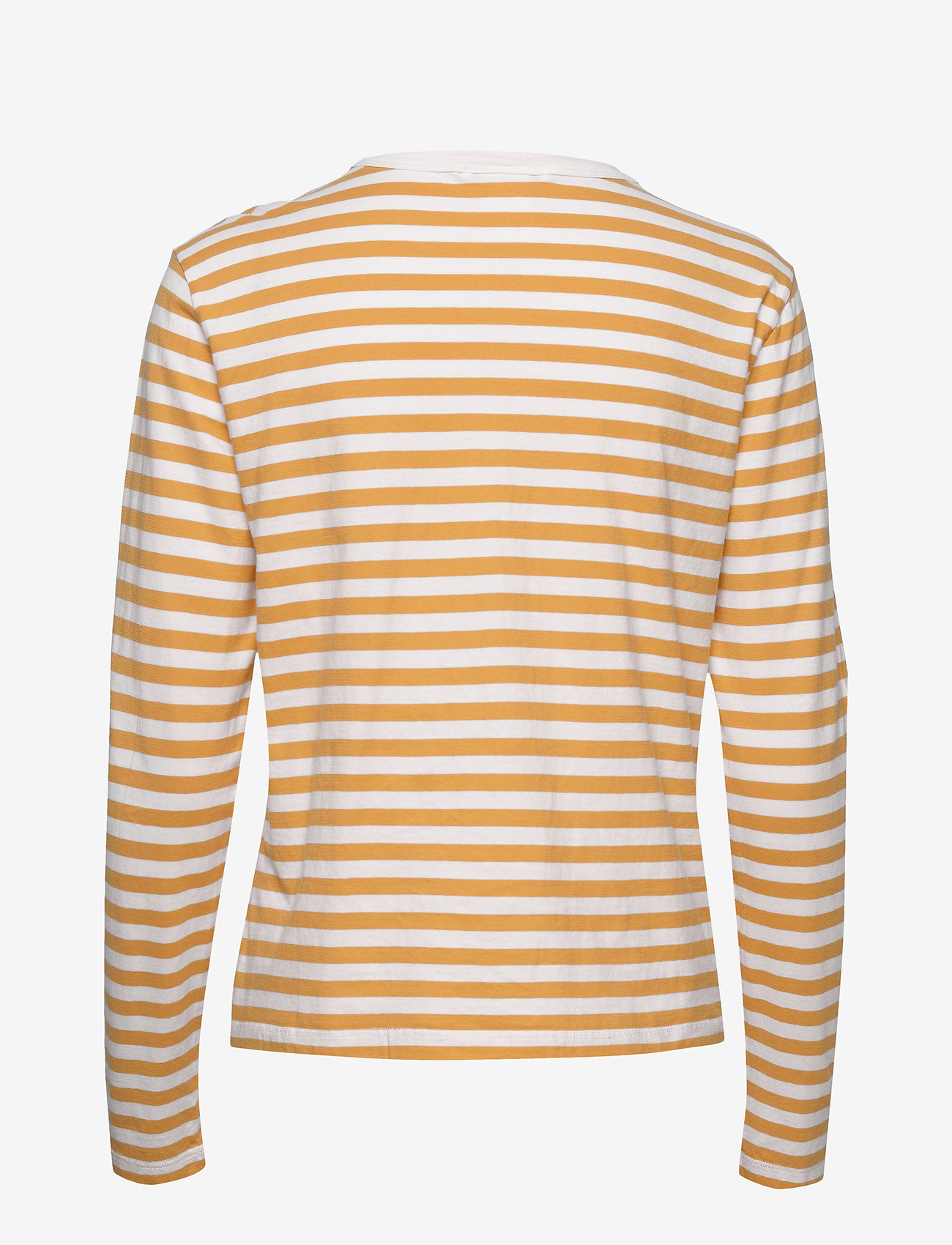 Hope Base LS Tee - T-shirty i zopy ORANGE STRIPE - Kobiety Odzież.
