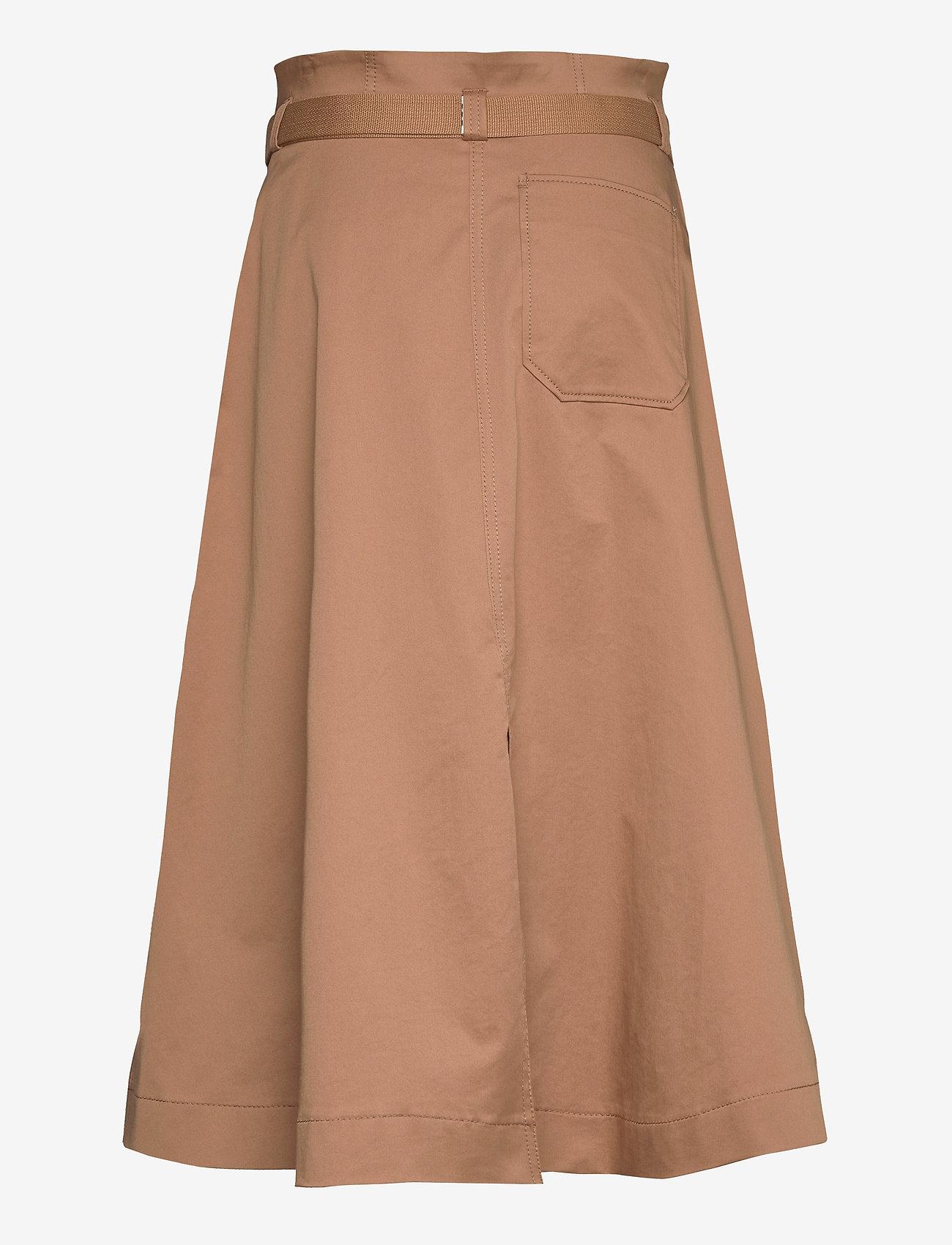 Hope Split Skirt - Skjørt BEIGE - Dameklær Spesialtilbud