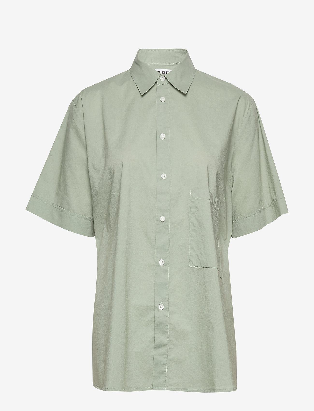 Hope - Elma Shortsleeve - chemises à manches courtes - sage green - 0