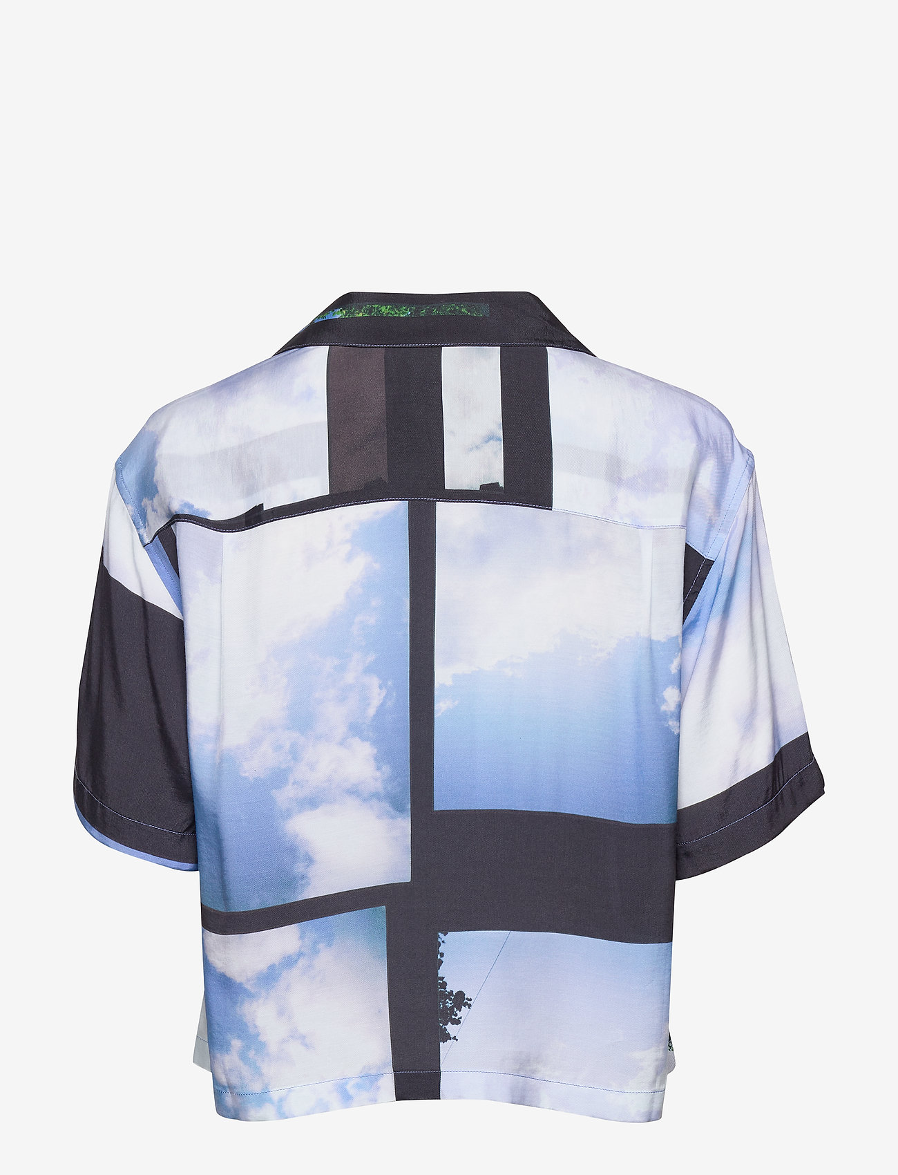 Hope - Short Shirt - overhemden met korte mouwen - heaven blue print - 1