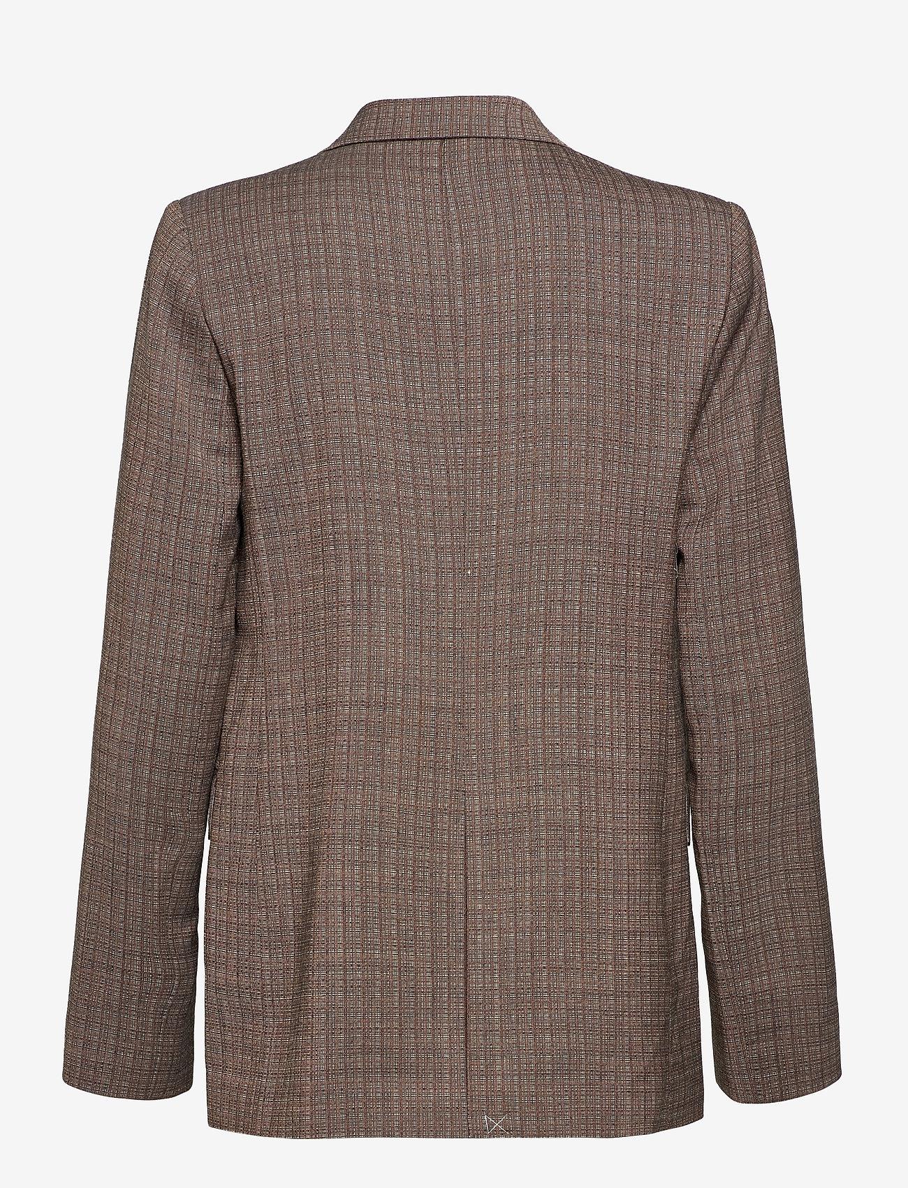 Hope - Dux Blazer - casual blazers - brown melange - 1