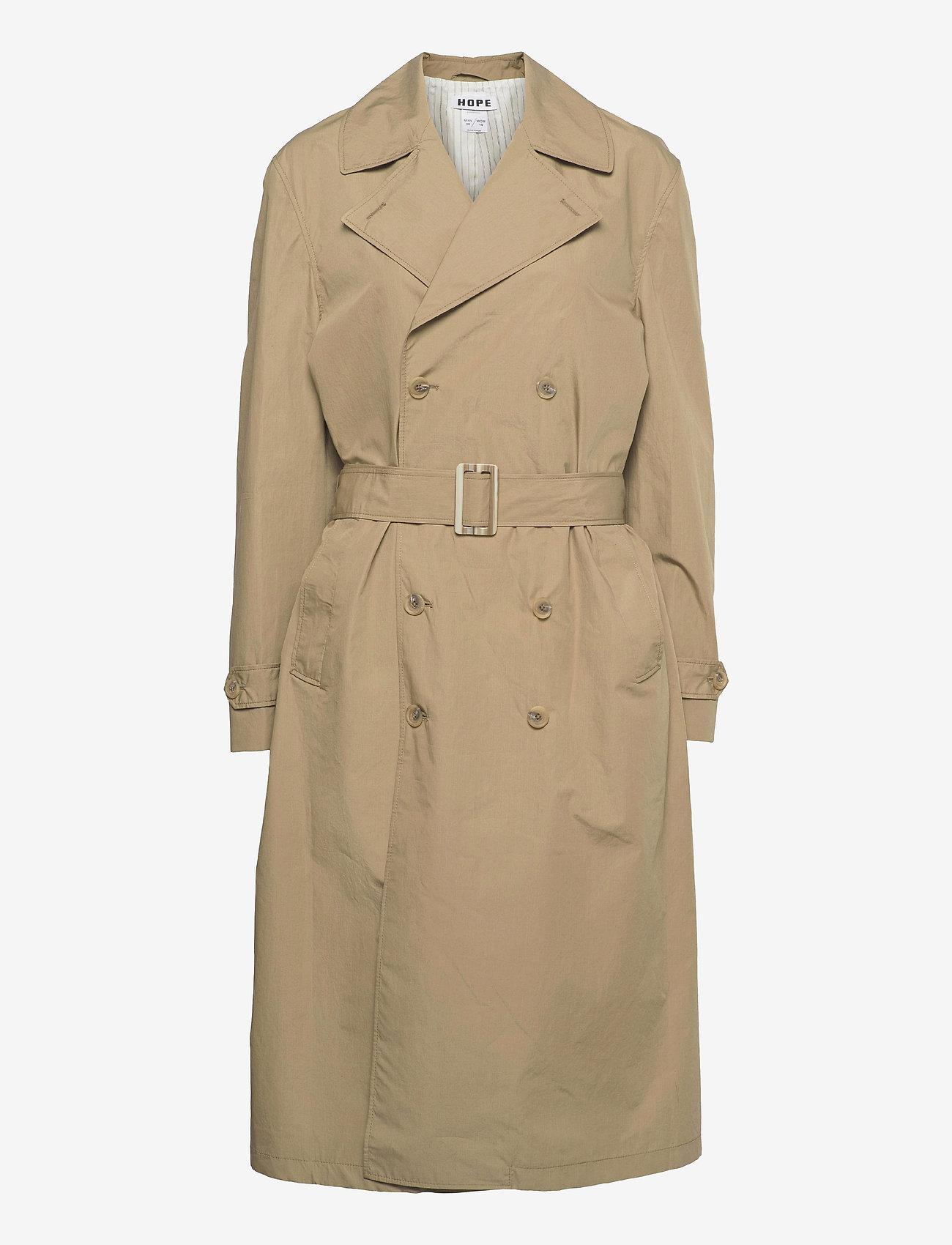 Hope - Dual Coat - trenchcoats - beige - 0