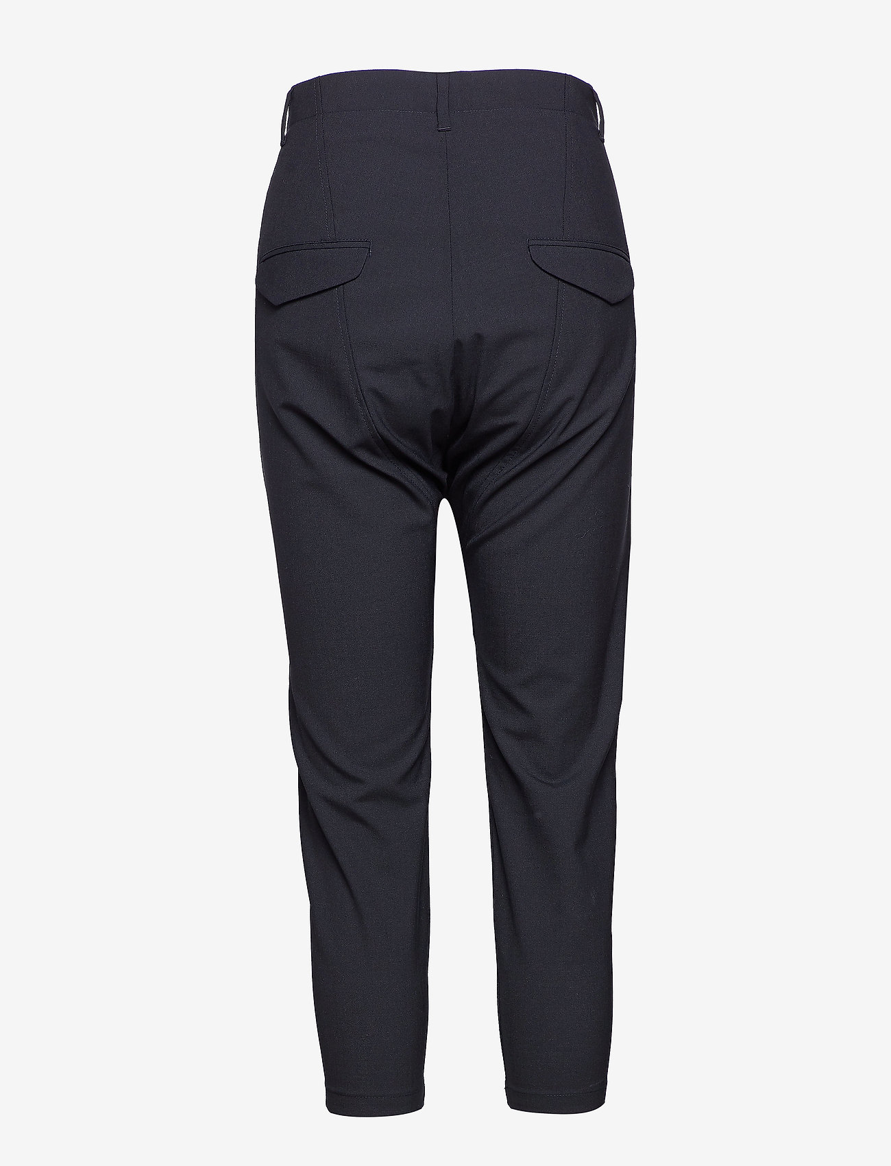 Hope - Was Trouser - bikses ar taisnām starām - black - 1