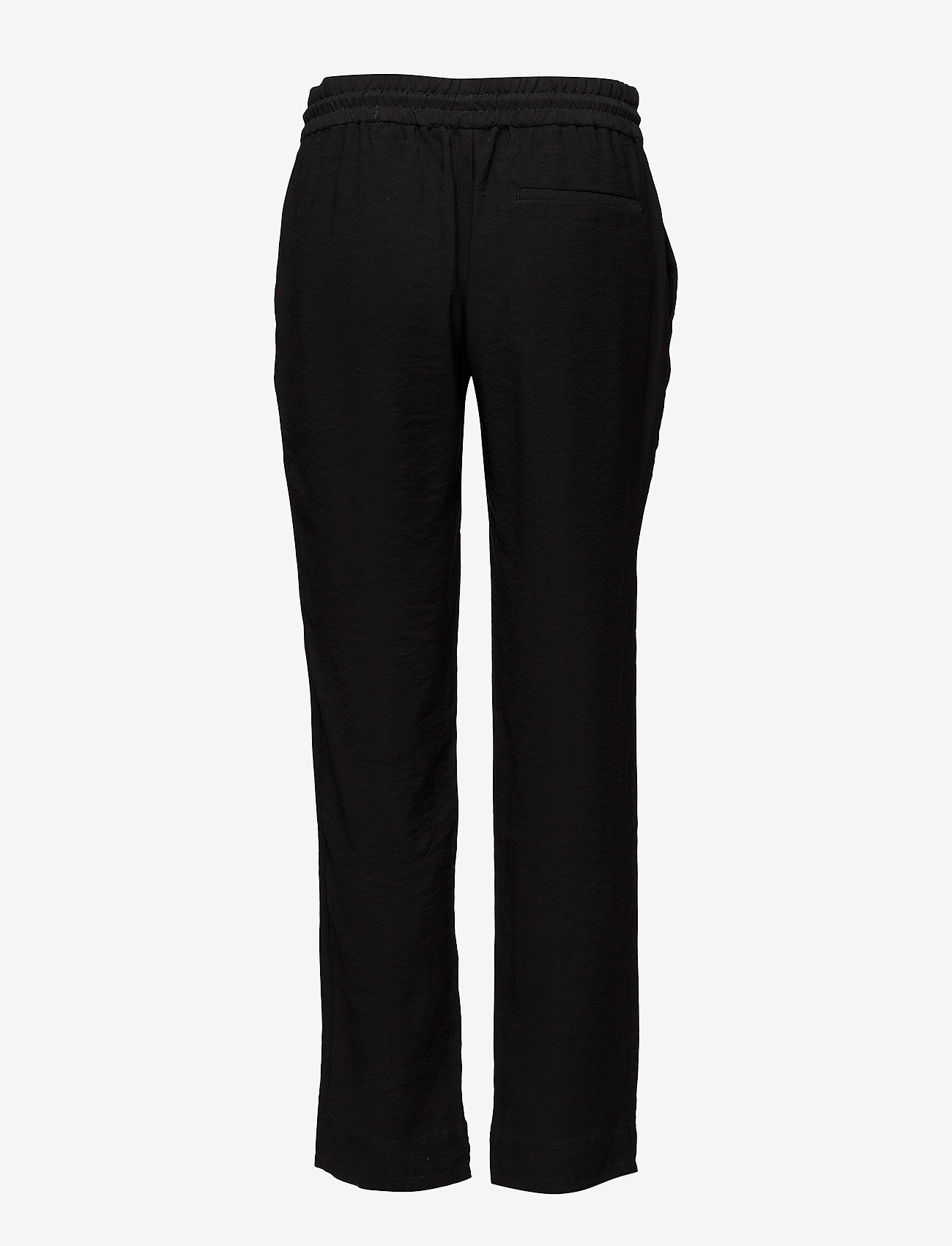 Hope - Lino Trouser - casual bukser - black - 1