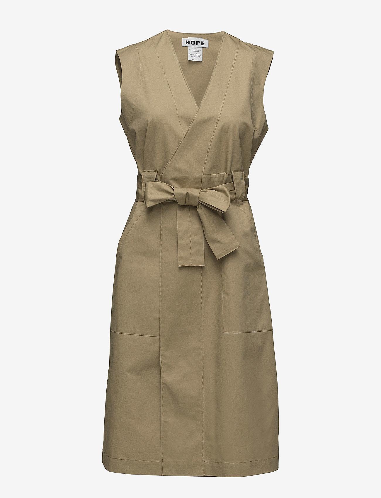 Hope - Trail Dress - omlottklänning - beige