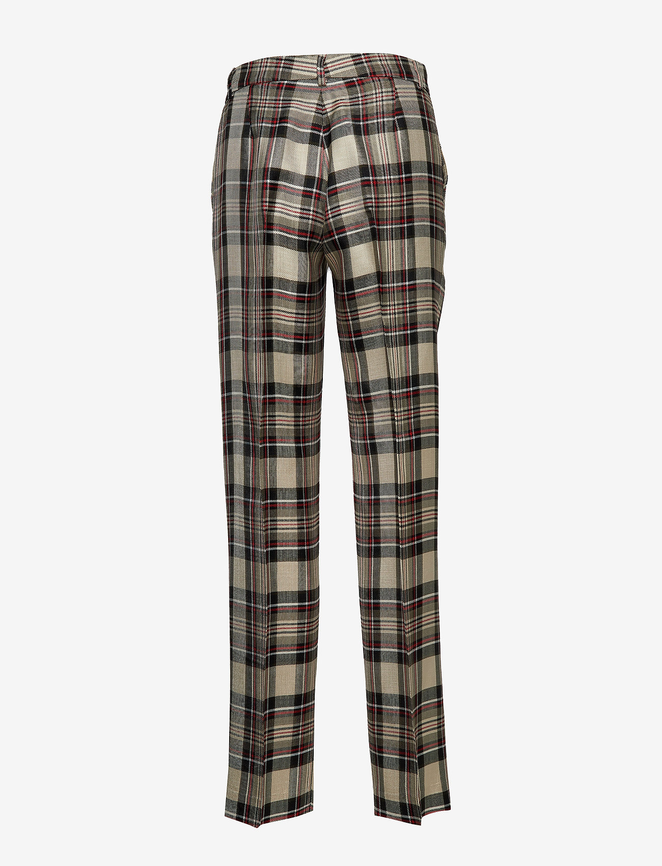 Soft Trouser (Red Window Check) - Hope HyFnTF