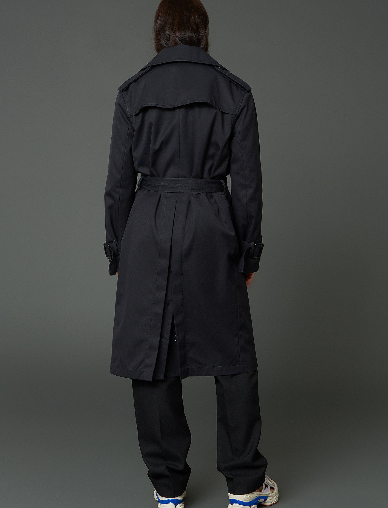 Hope - Sky Coat - trenchcoats - navy - 3