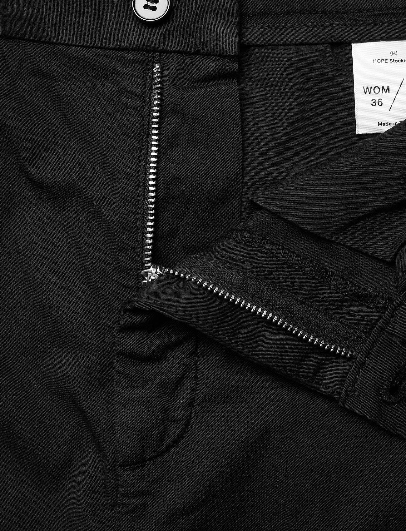 Hope - News Edit Trousers - casual broeken - black - 3