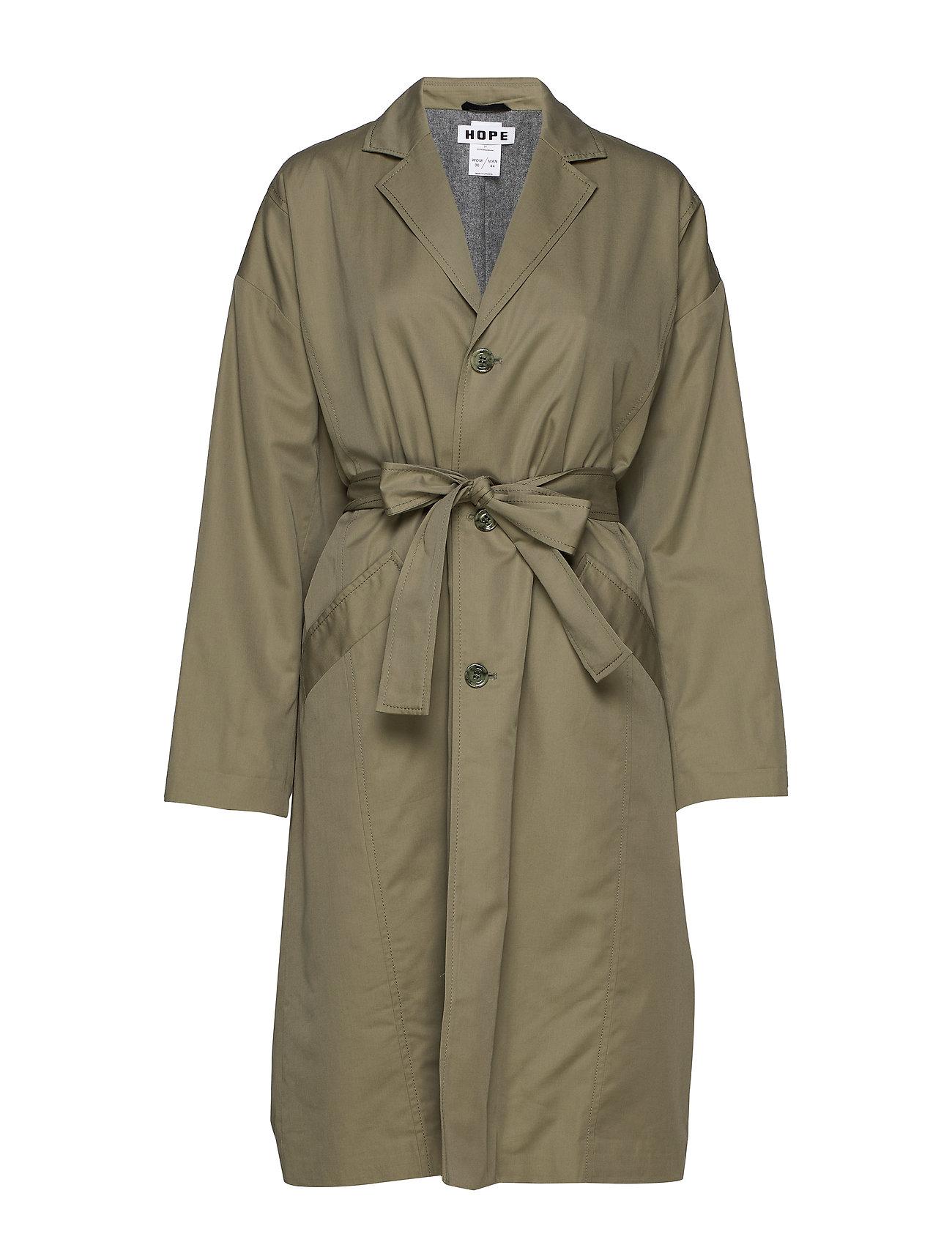 Image of Standard Coat Trenchcoat Frakke Grøn Hope (3547474647)