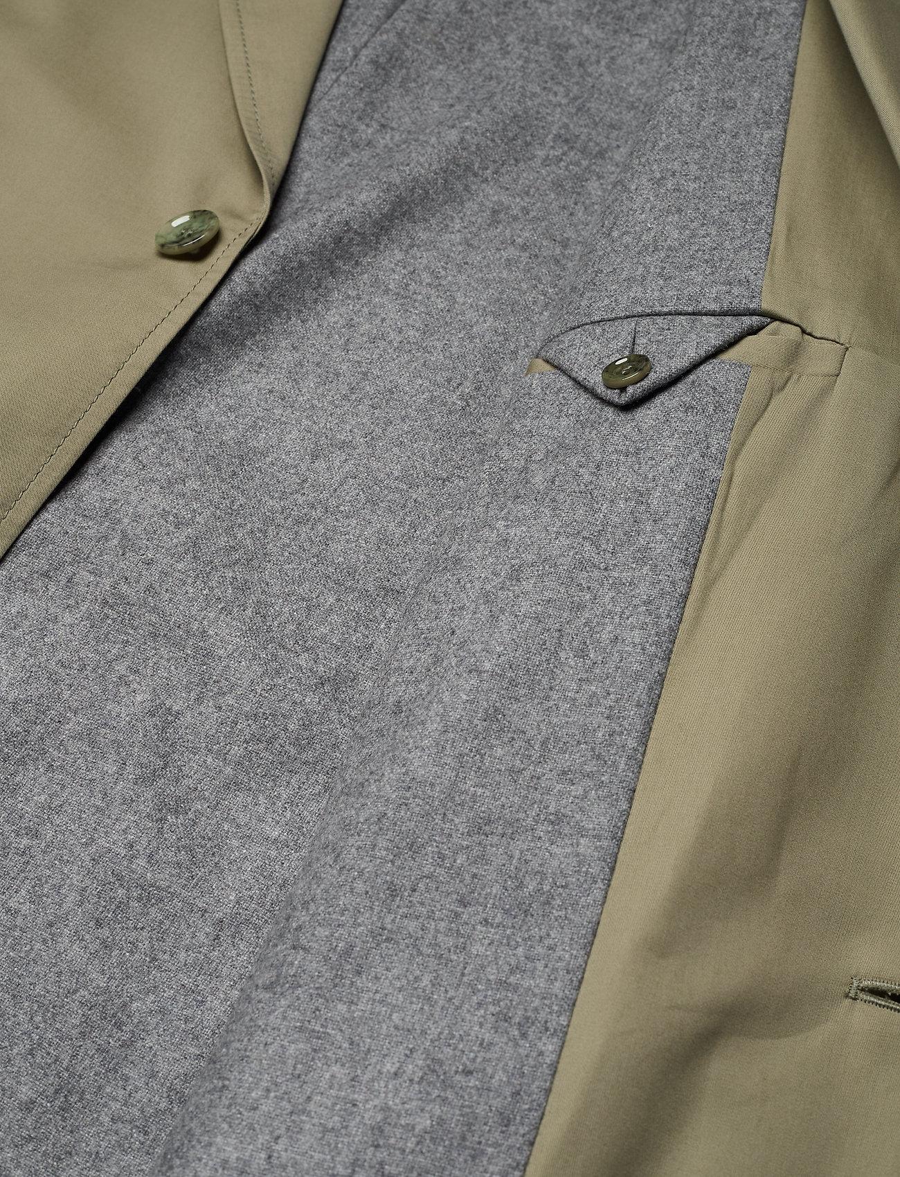 Hope - Standard Coat - trenchcoats - khaki green - 4