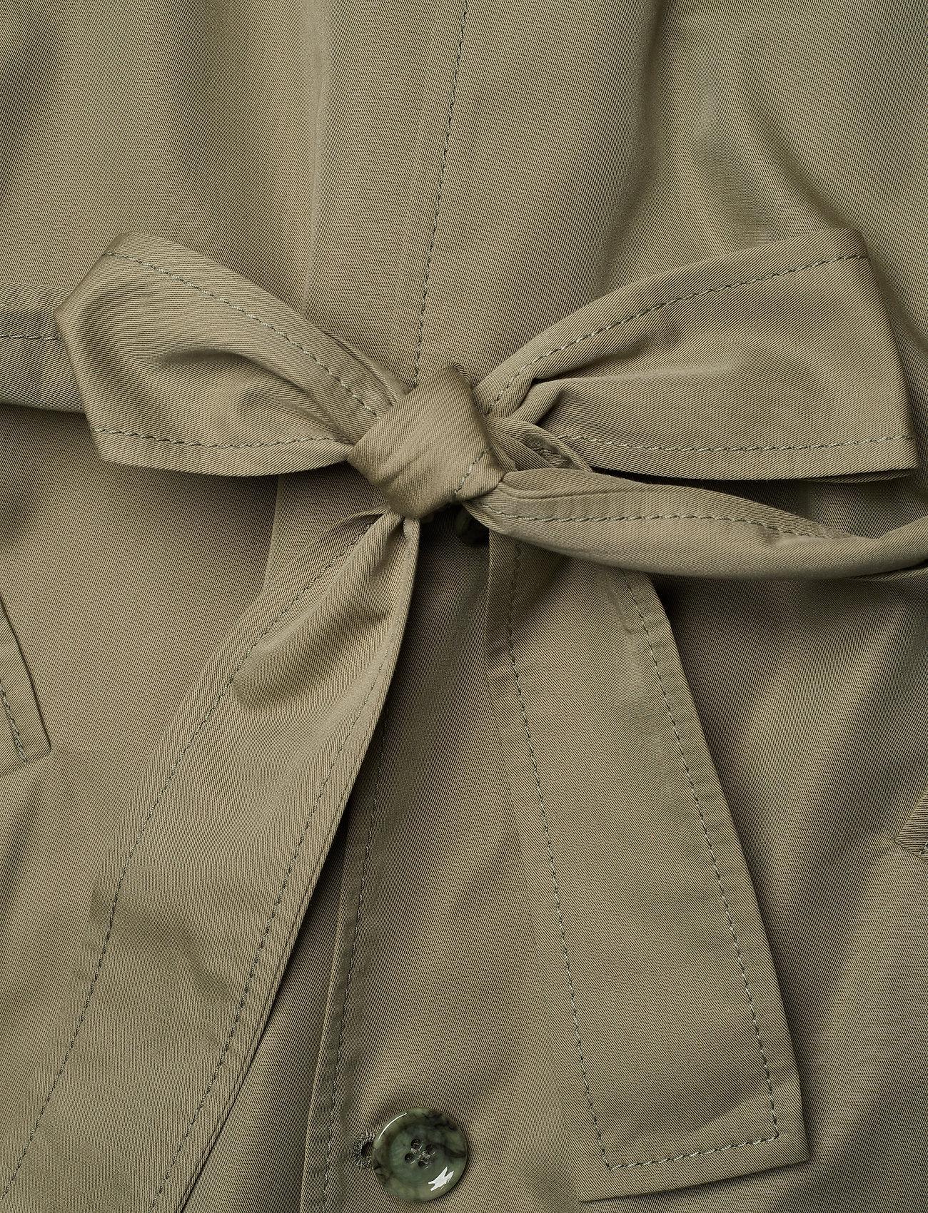 Hope Standard Coat - Jackets & Coats KHAKI GREEN
