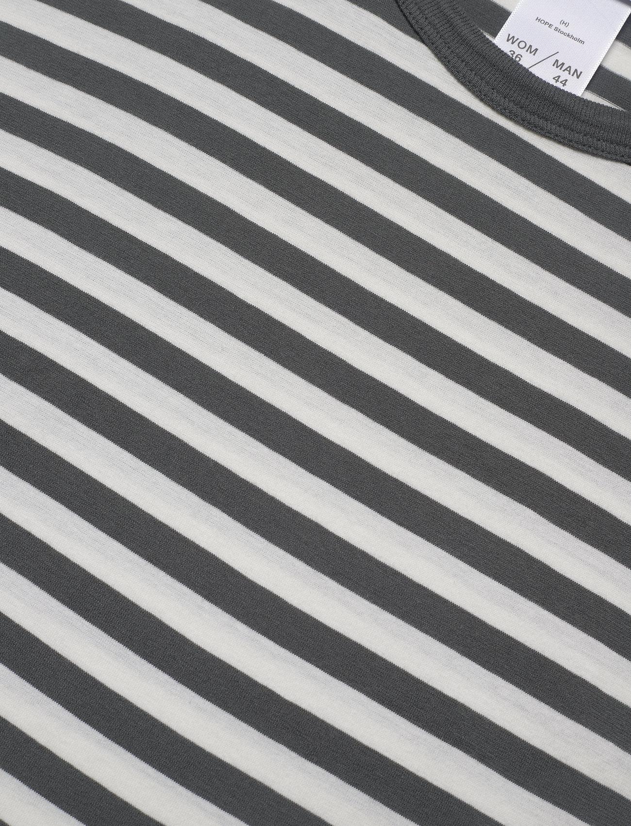 Hope Base LS Tee - T-shirty i zopy BLACK STRIPE - Kobiety Odzież.