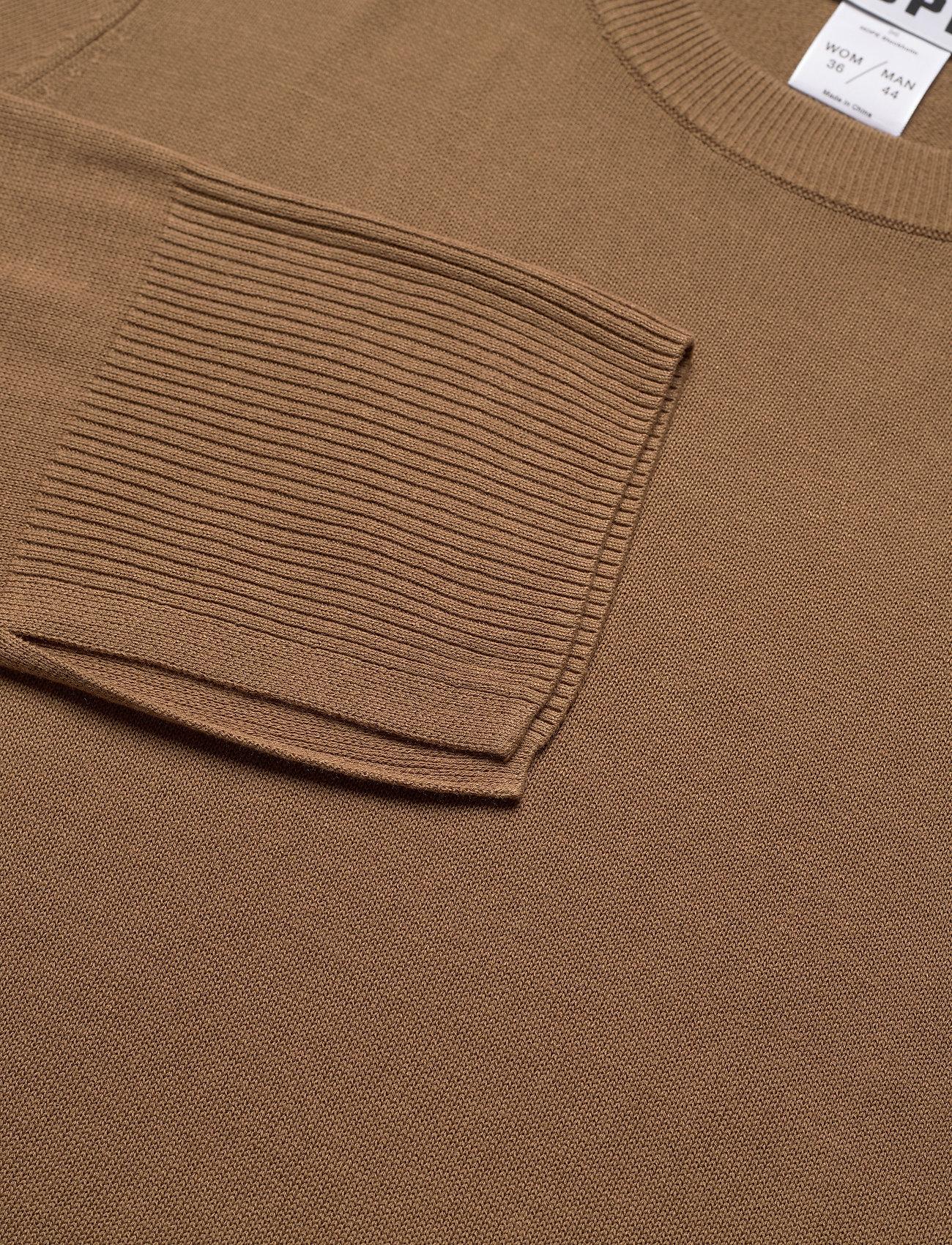 Hope Pin Sweater - Stickat Oak Brown