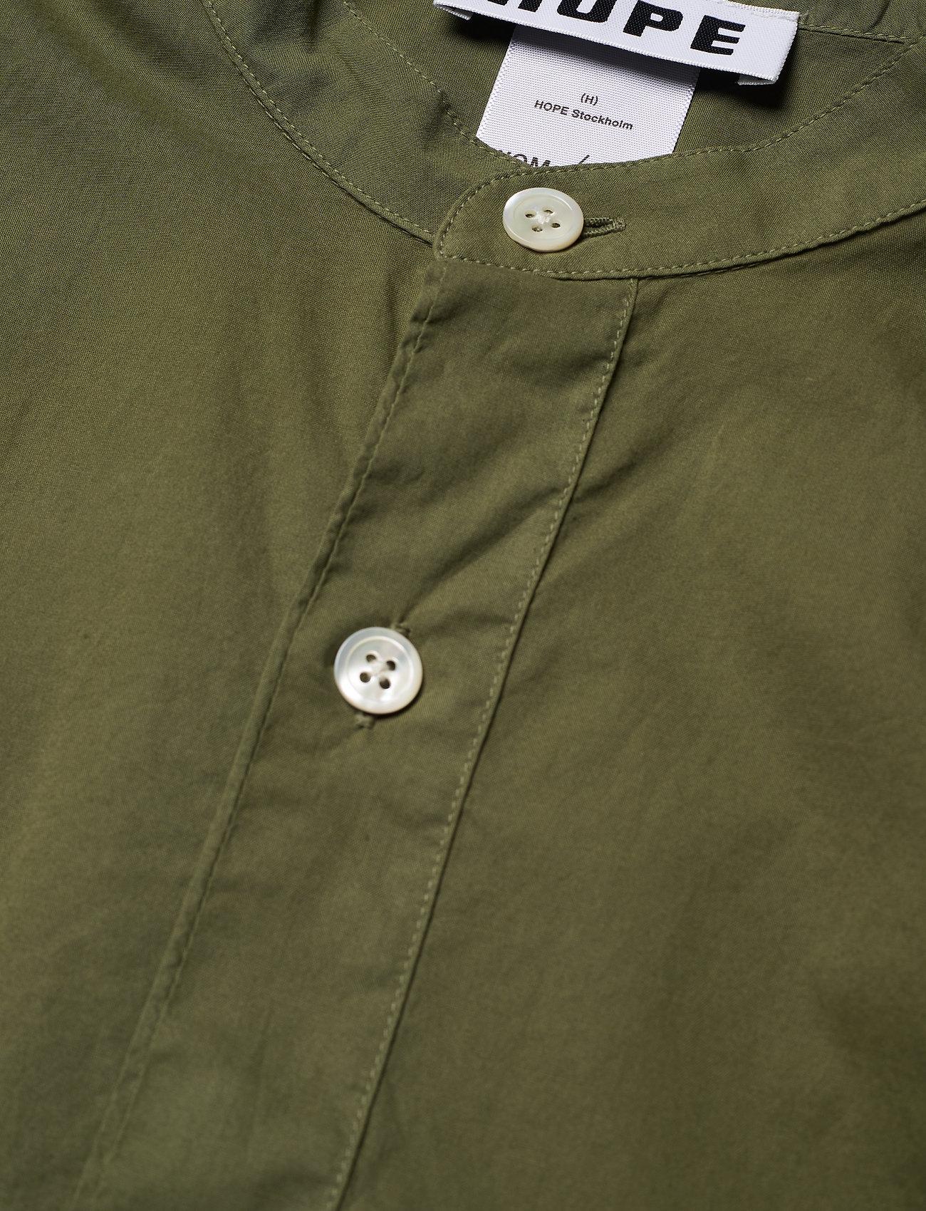 Hope Arc Shirt - Bluser & Skjorter KHAKI GREEN - Dameklær Spesialtilbud