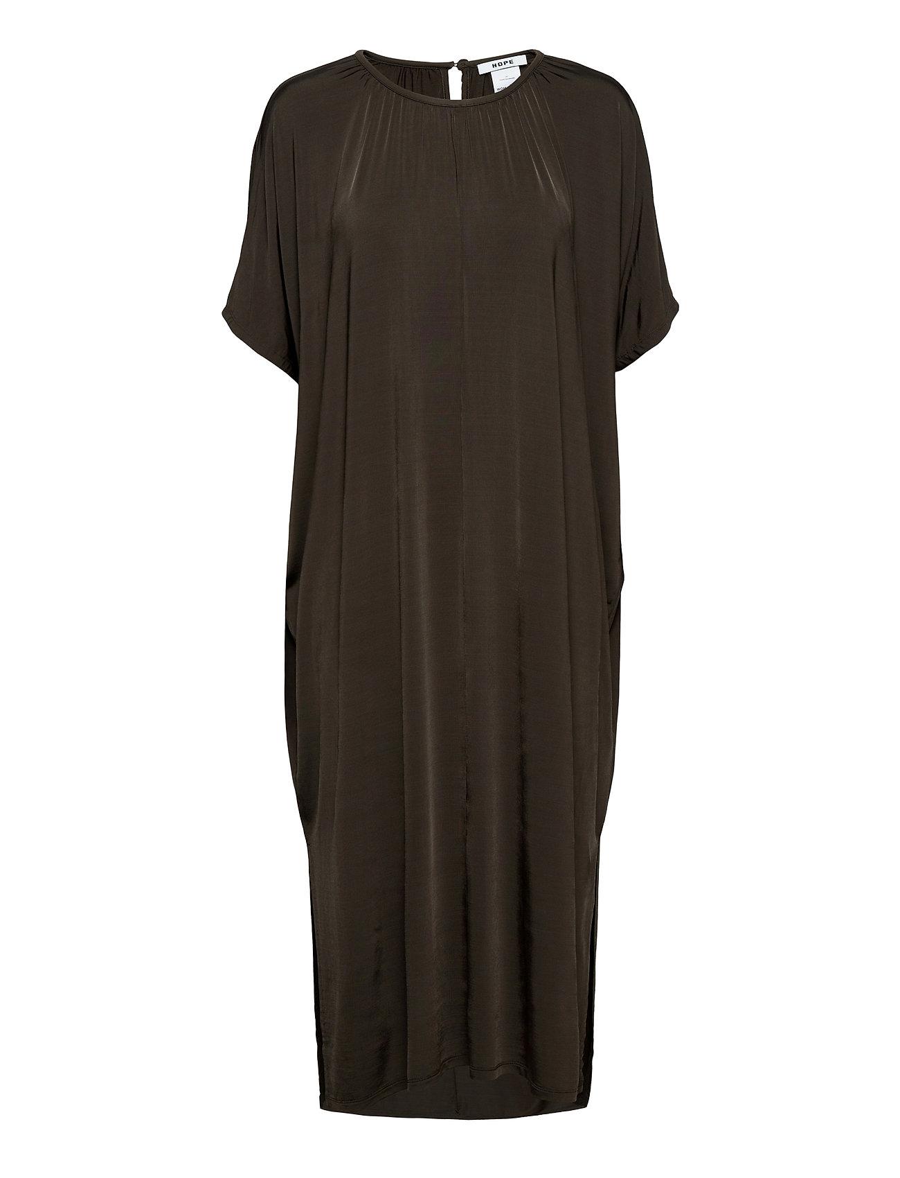 Image of Sense Dress Maxikjole Festkjole Sort Hope (3447243263)