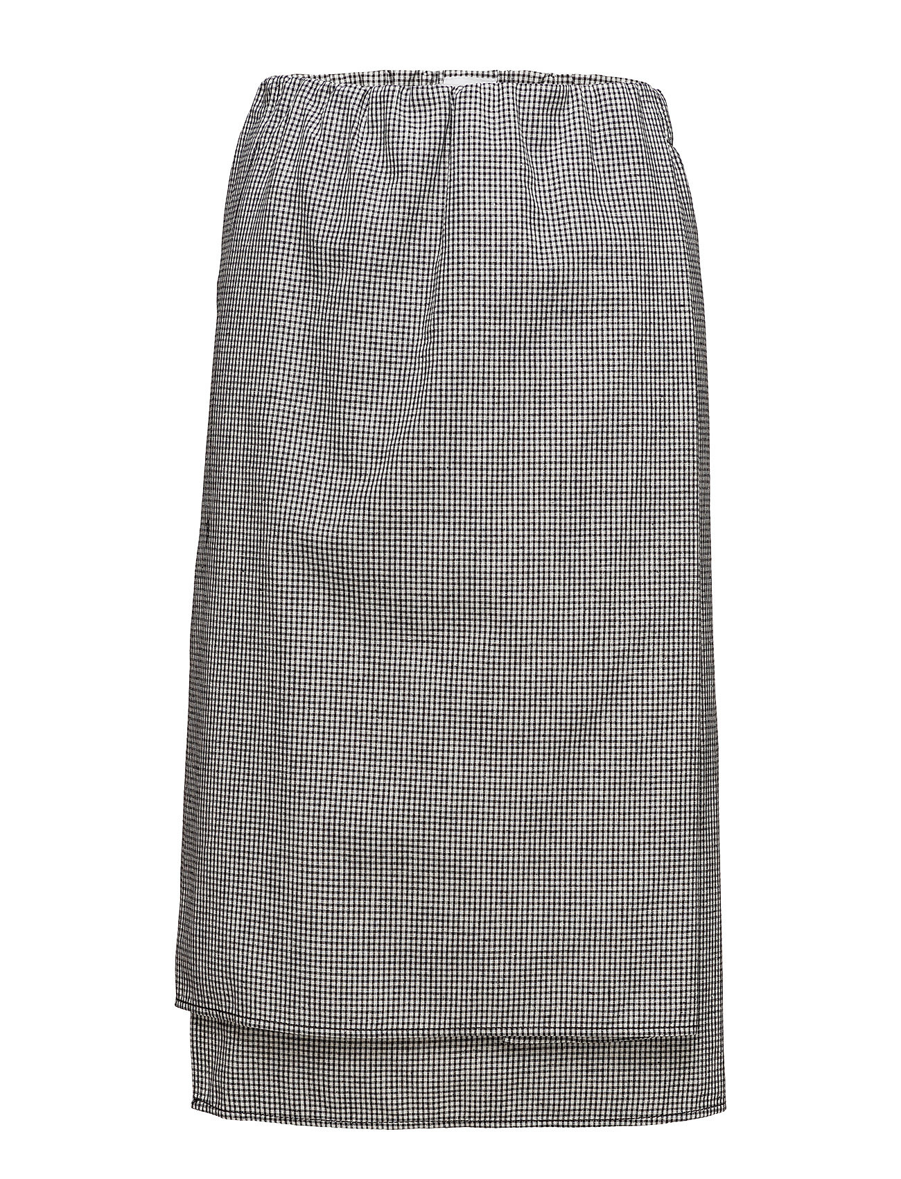 Hope Hanoi Skirt - BLACK CHECK