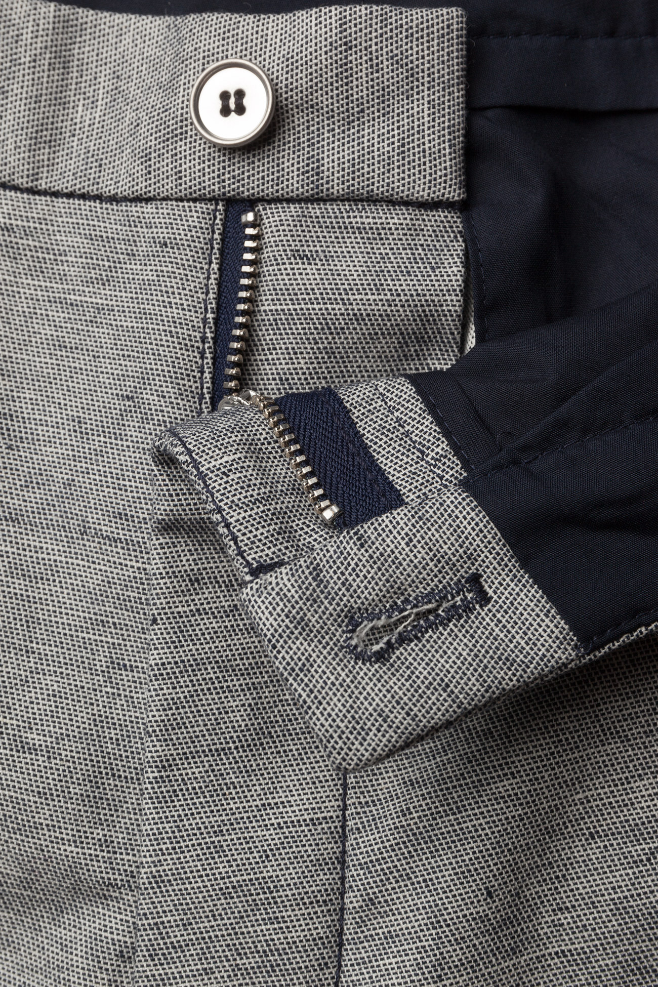 Hope Law Trouser - Spodnie DK BLUE MEL - Kobiety Odzież.
