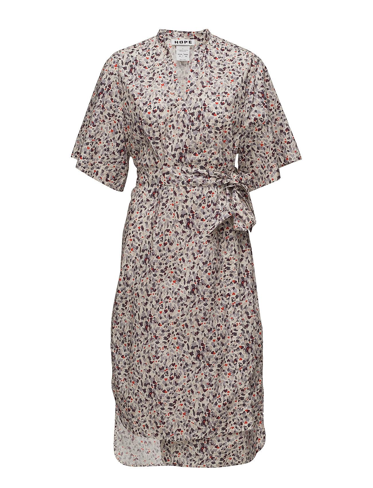 Hope Split Dress - LOVE PRINT