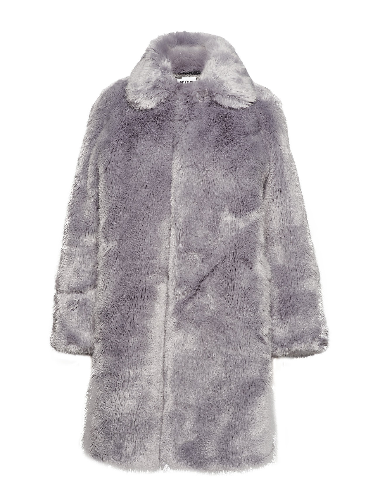 Hope Viva Fur Coat - BLUE GREY