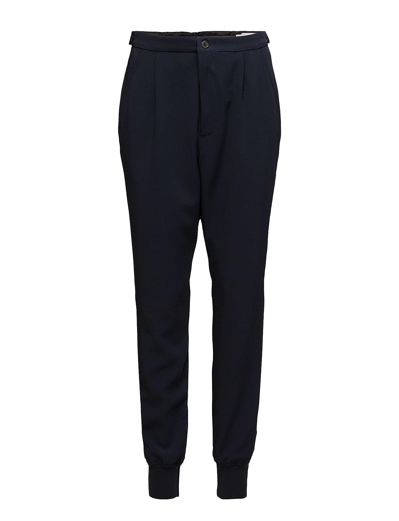 Hope Core Cuff Trouser - DK NAVY