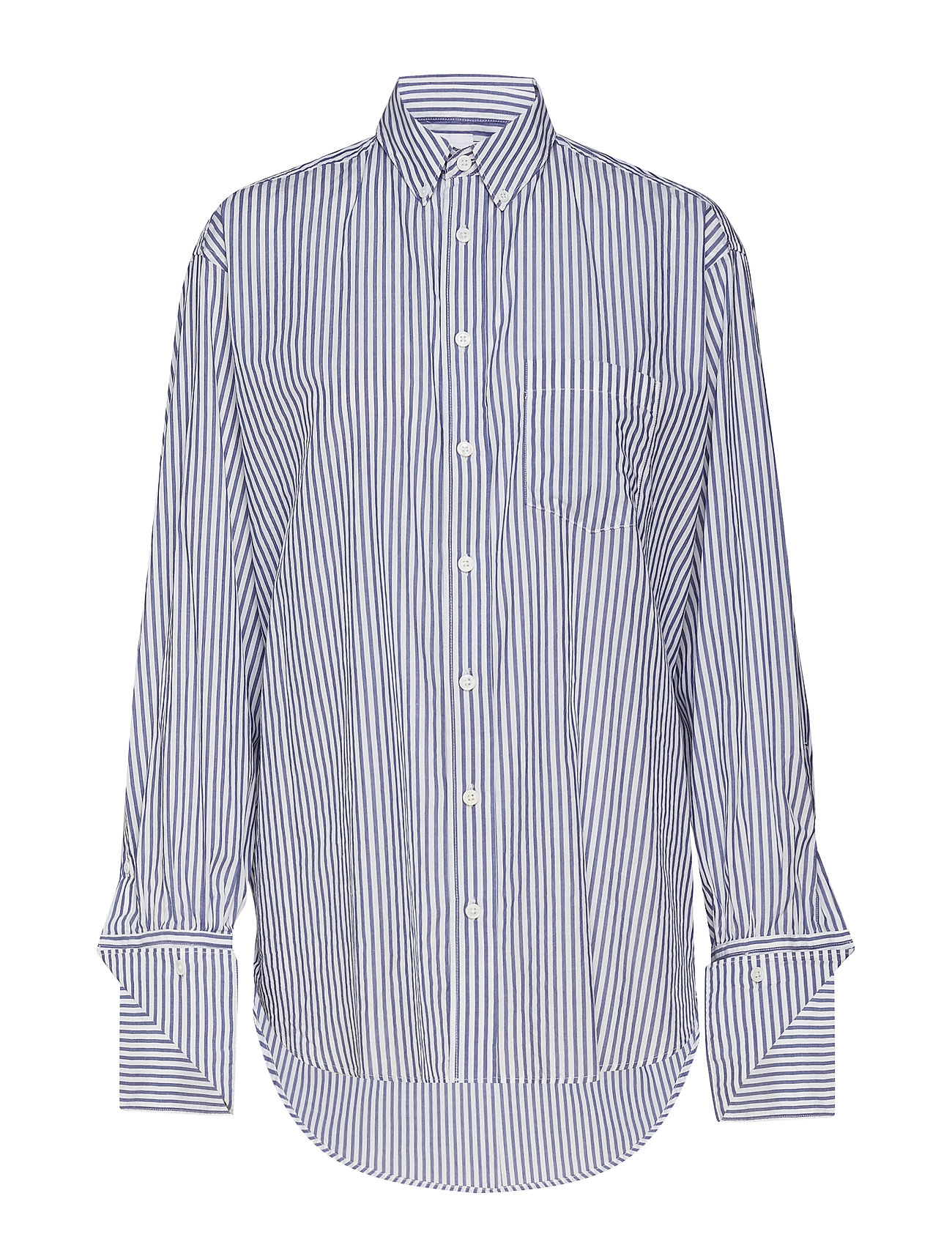 Image of Brave Shirt Langærmet Skjorte Blå HOPE (3189851409)