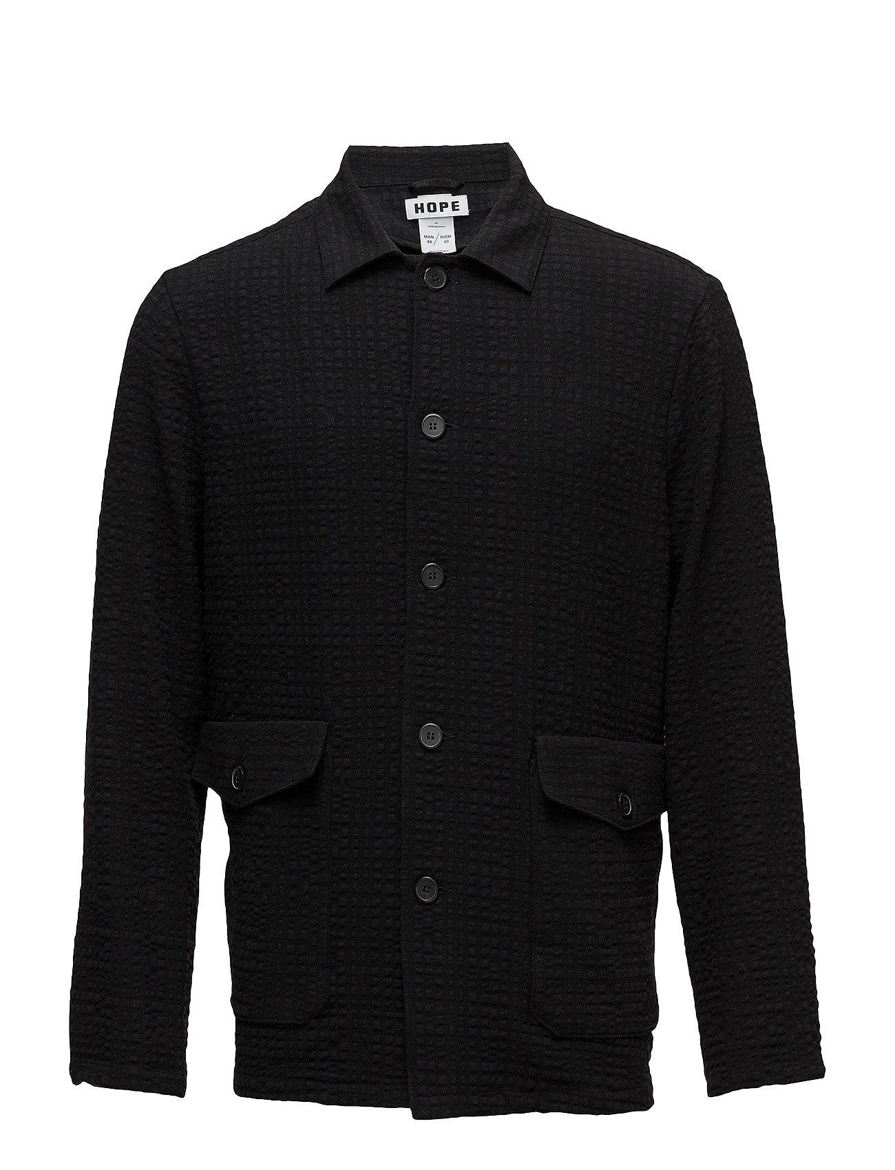 Hope Shirt Jacket - BLACK