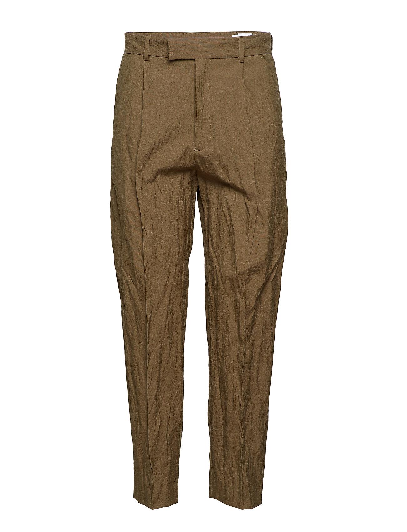Image of Alta Trouser Bukser Med Lige Ben Brun Hope (3092618165)