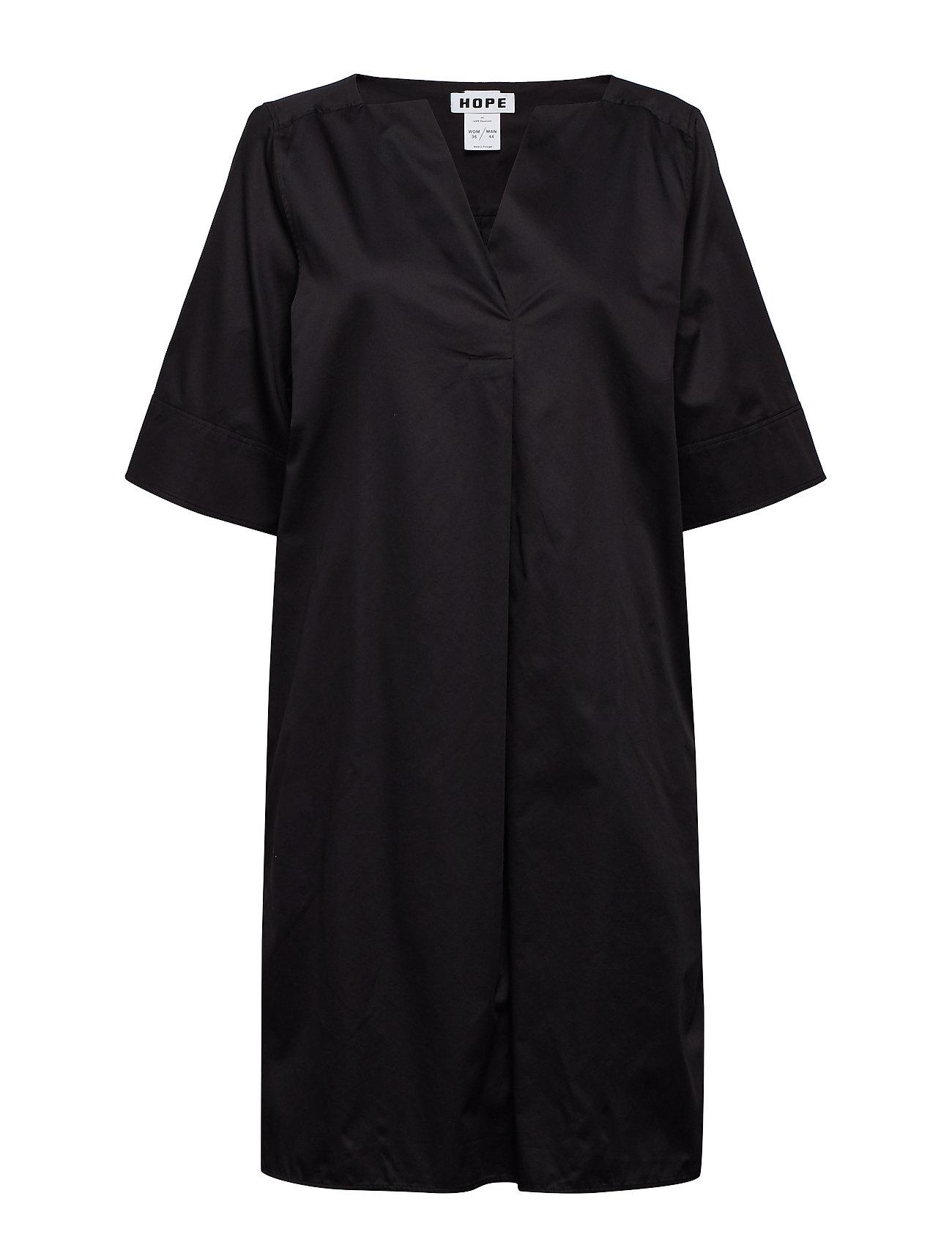 Hope Mono Dress - BLACK