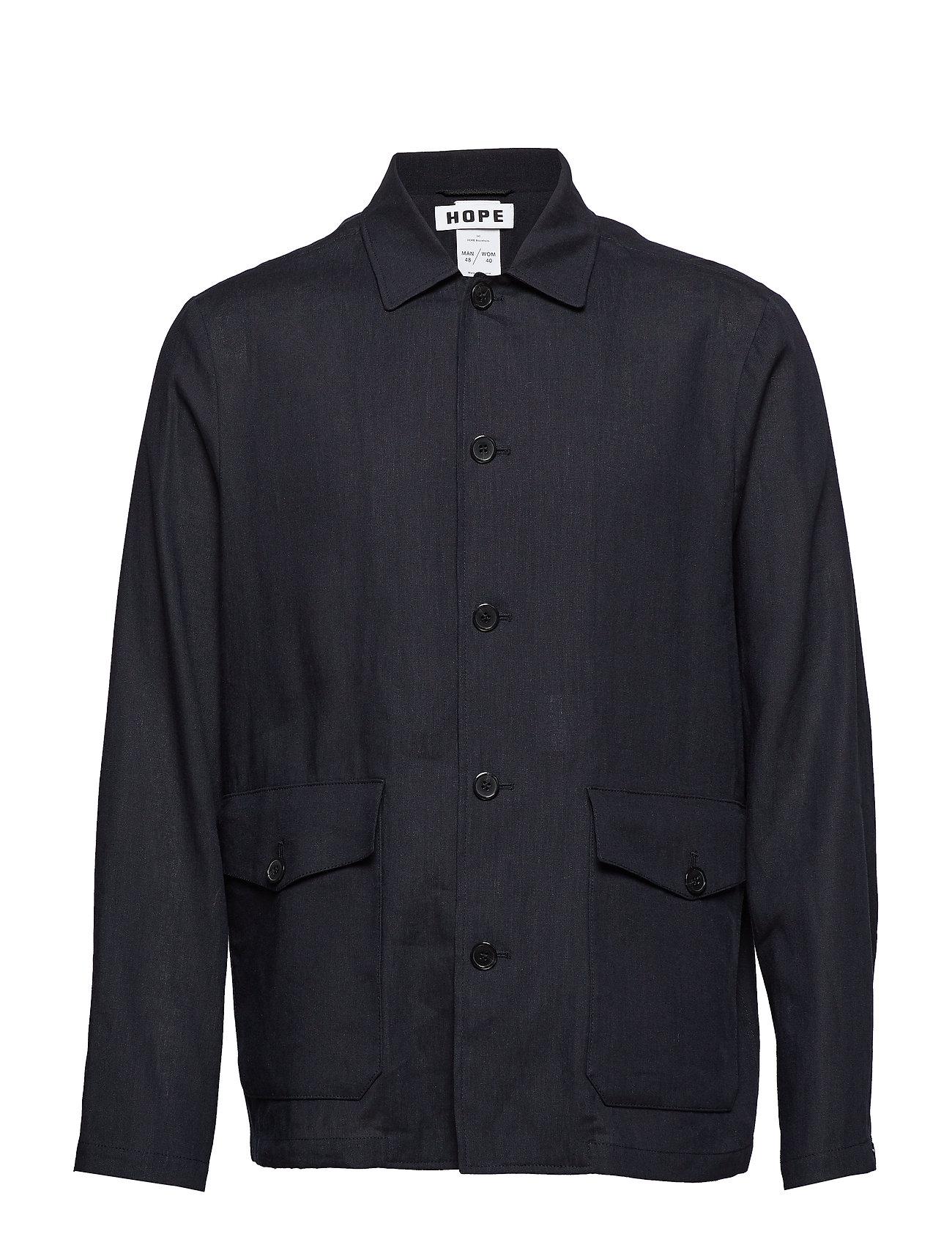 Hope Shirt Jacket - DK BLUE