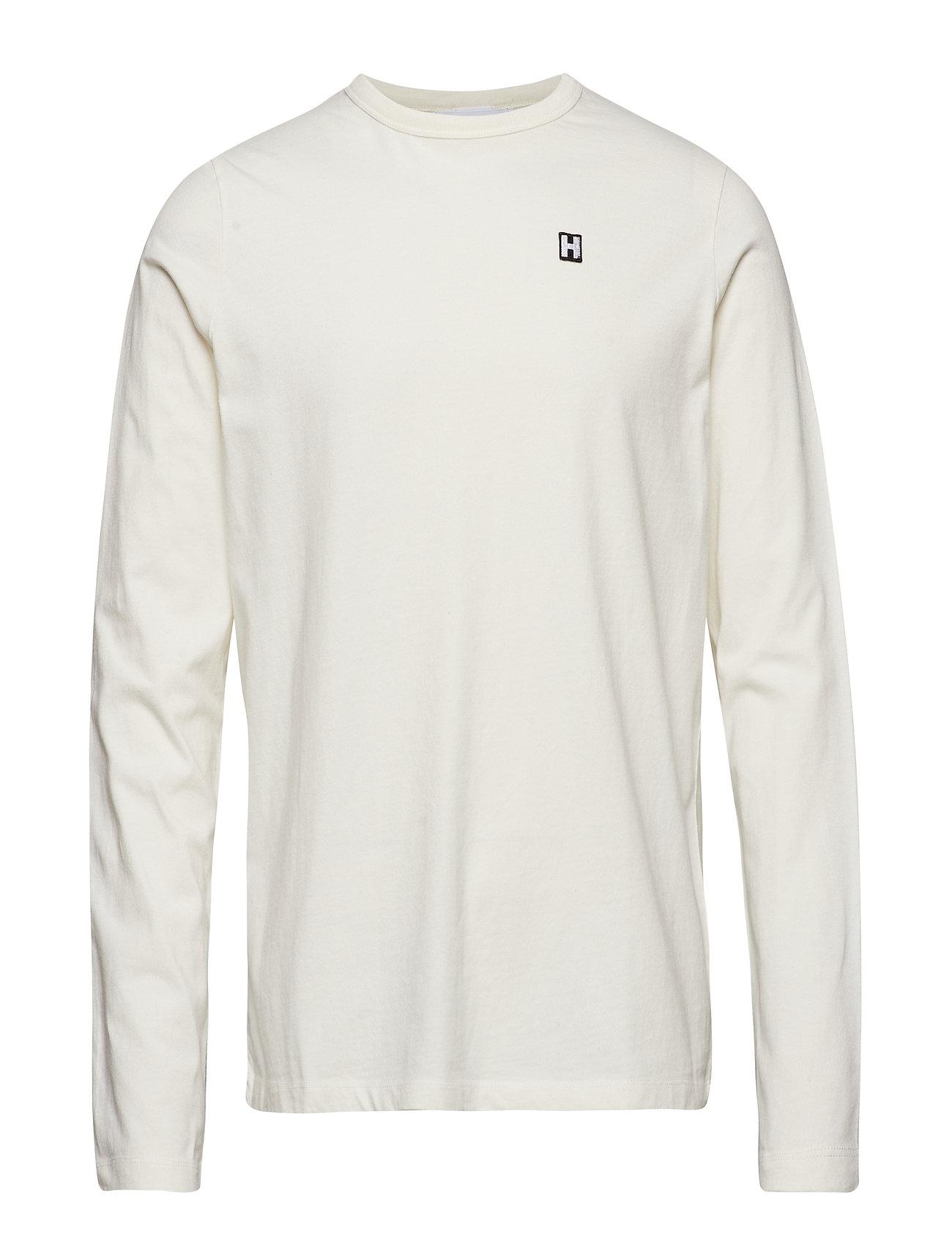 3007be4c Hope langærmede t-shirts – Final Ls Tee til herre i Hvid - Pashion.dk