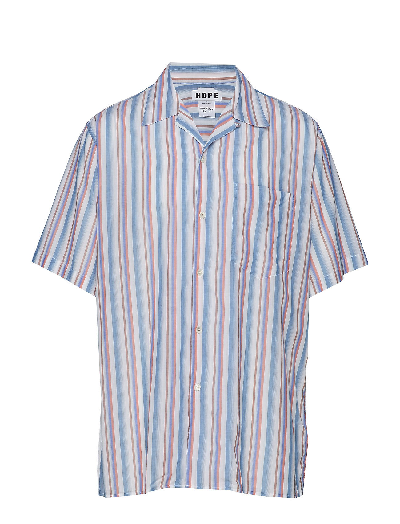 Hope Camp Shirt - MULTI STRIPE