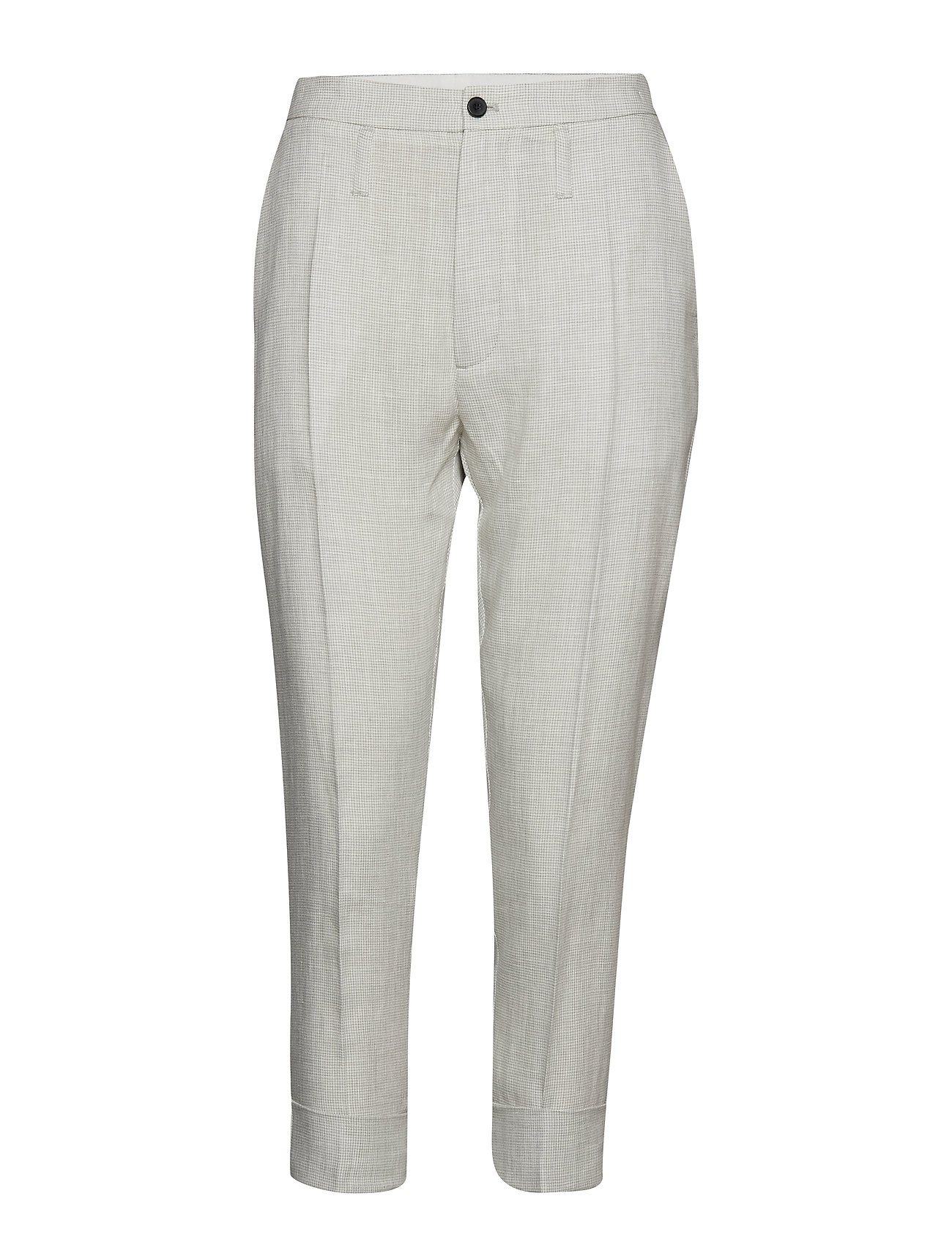Hope Law Trouser - GREY DOGTOOTH