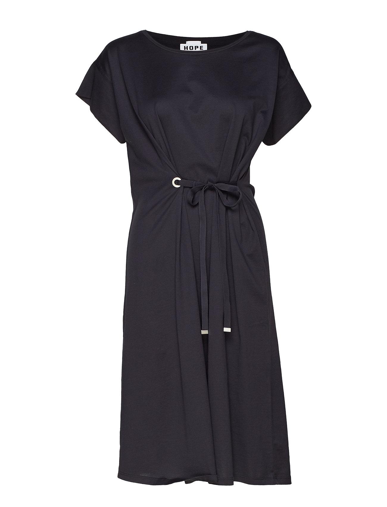 Hope Lock Dress - BLACK
