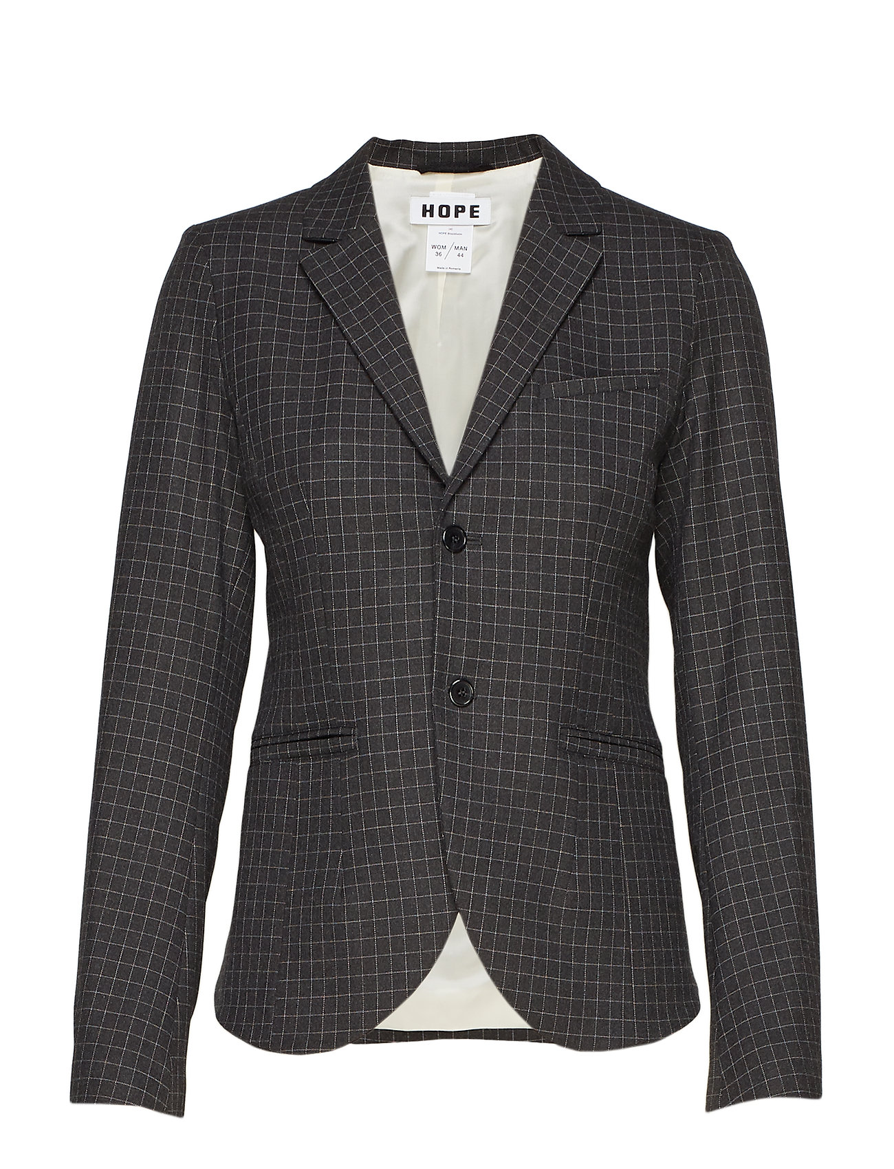 Hope The One Blazer - GREY CHECK