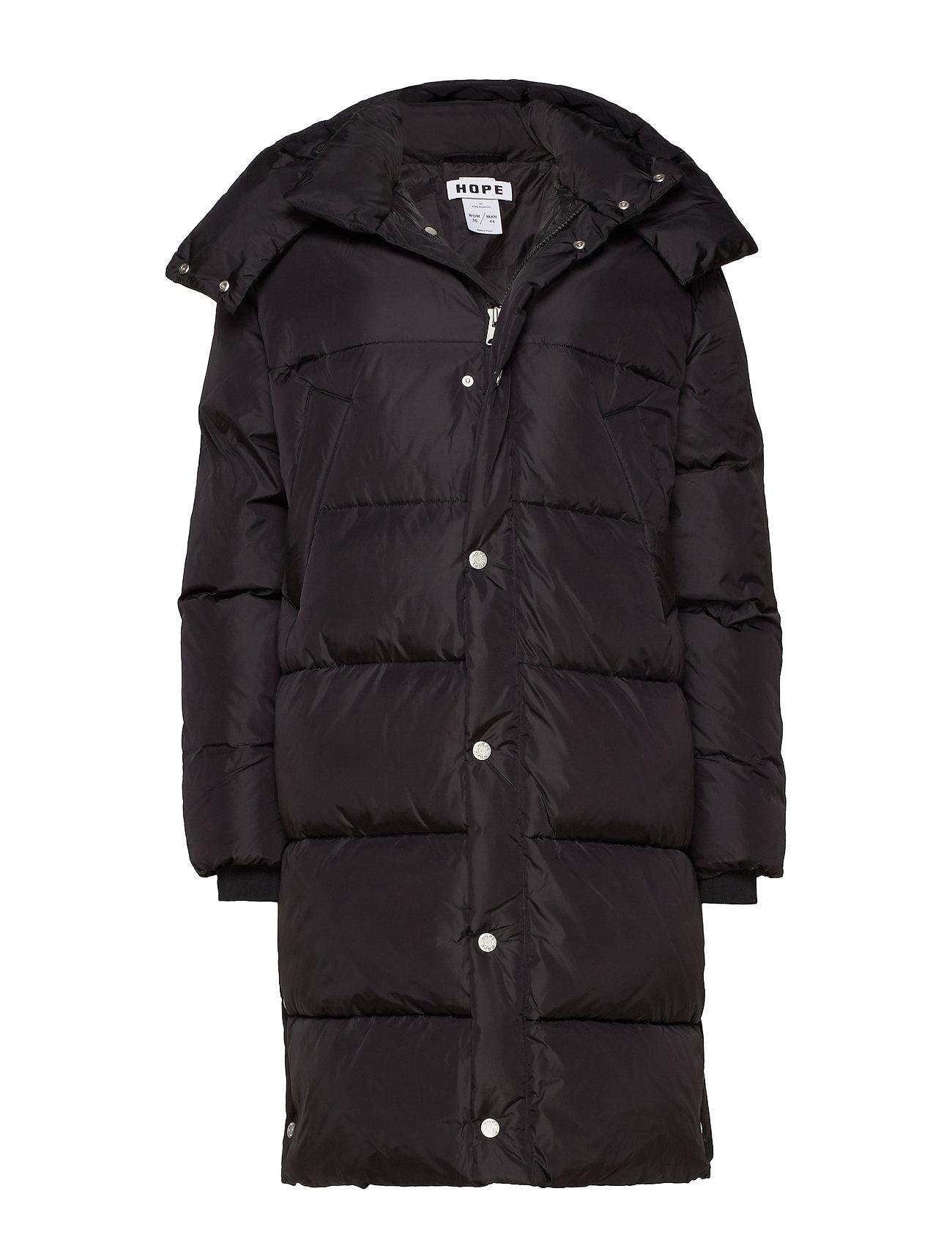 Hope Duvet Coat - BLACK