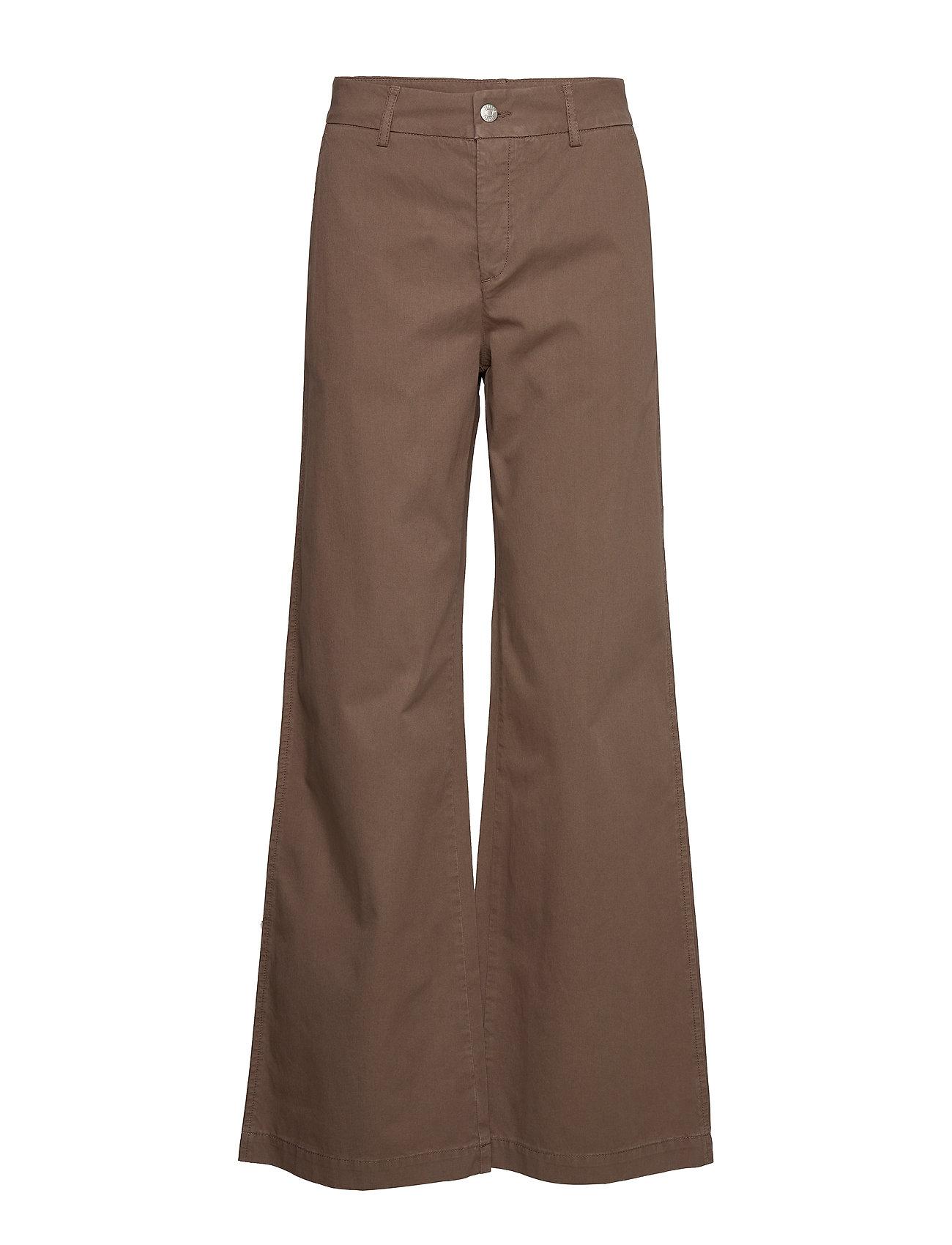 Hope Ease Trousers - KHAKI BROWN