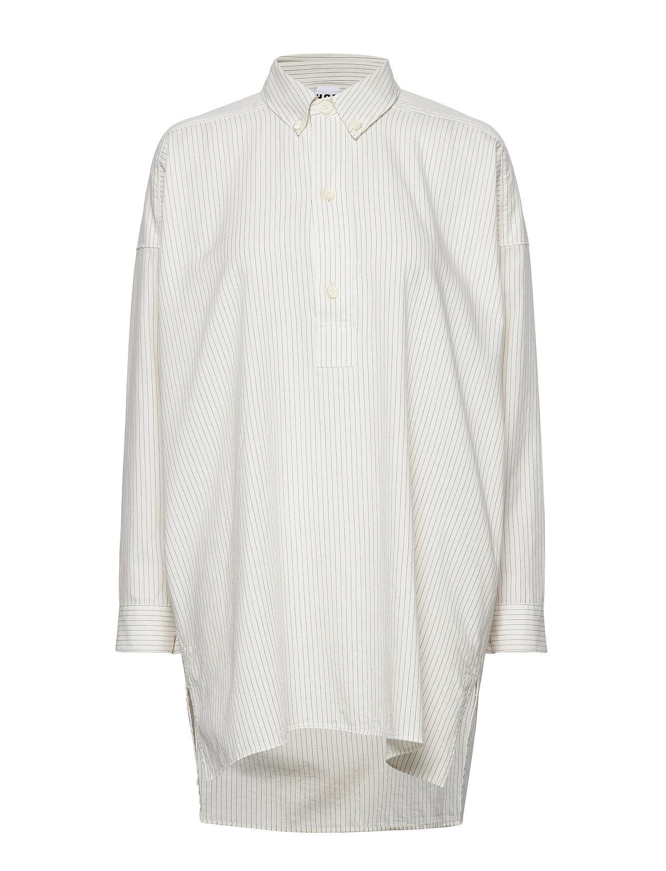 Hope Pitch Shirt - OFF WHITE PINSTRIPE